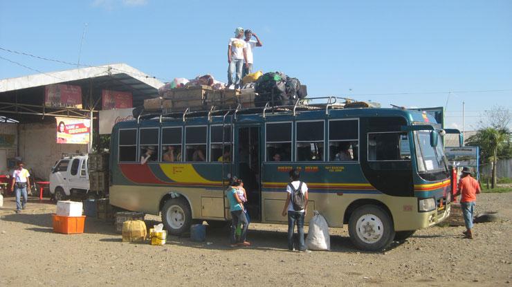 bus à puerto princesa pour elnido